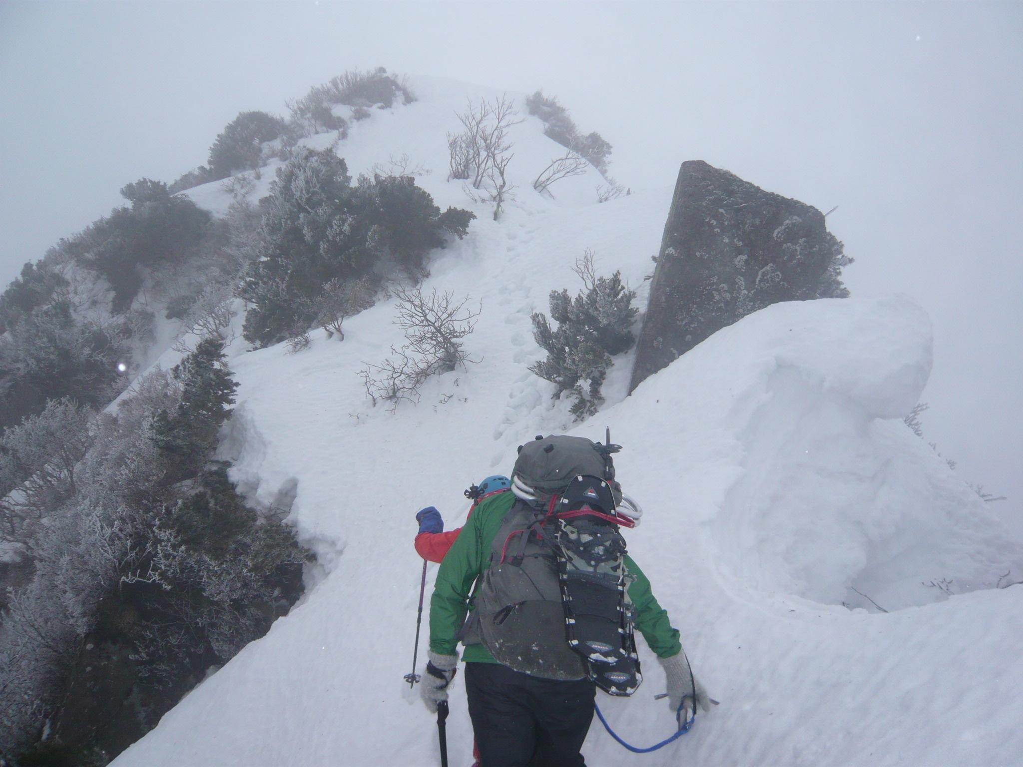 【個人山行】烏ヶ山(厳冬期登頂)